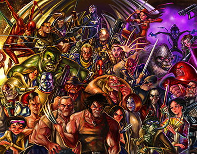 Wolverine's friends , family and foes