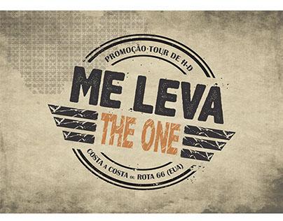 Logo/cupom/Hot Site  da Campanha Me Leva The One.