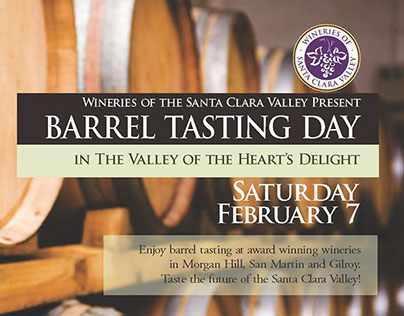 Wineries of the Santa Clara Valley Barrel Day 2015