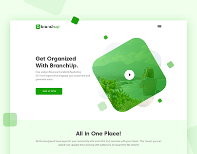 Landing Page Design | Branch Up