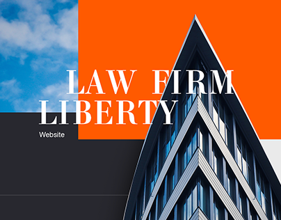 Law firm Liberty - Landing Page
