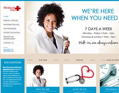Medical One Website