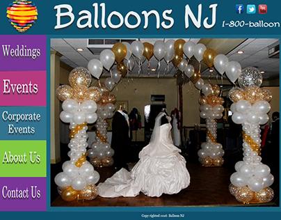 Balloon Design Website