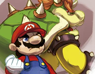 Mario Bros Fan Art