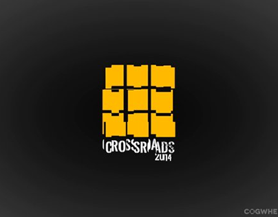 Teaser and Logo Animation for Crossroads 2014