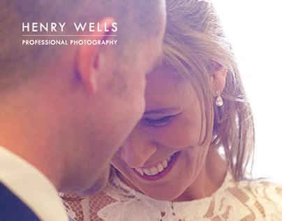 Henry Wells Wedding Photography Brochure