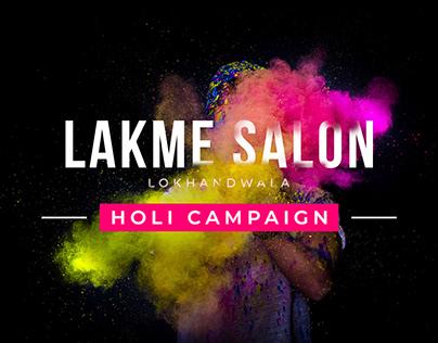 Lakme salon (Lokhandwala) - Holi campaign 2019