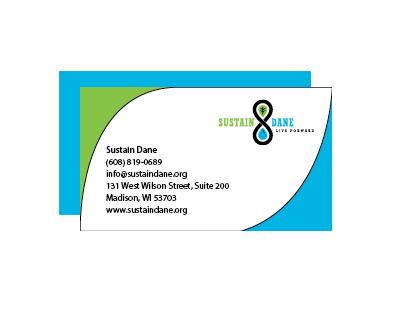 Sustain Dane Business Cards