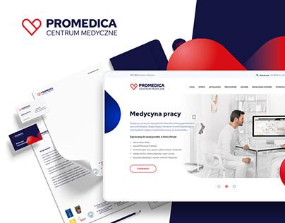 Promedica Medical Center / Branding & Website