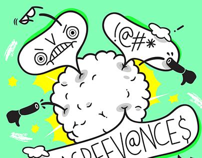 'Disagreevances' podcast artwork