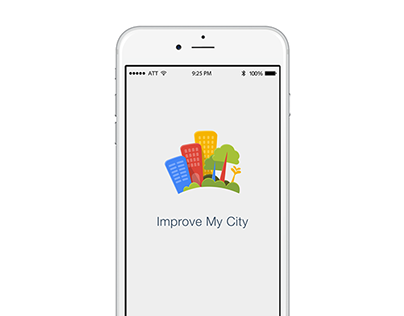 Improve My City iOS app redesign
