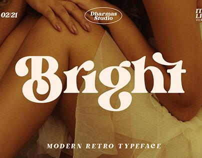 Modern Retro Typeface