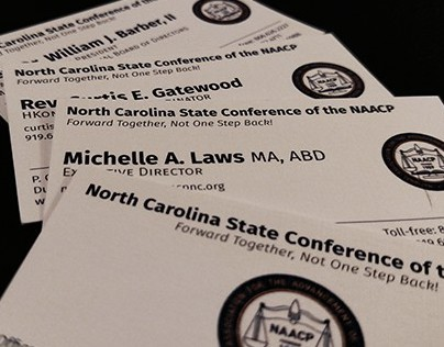 NC NAACP Business Cards