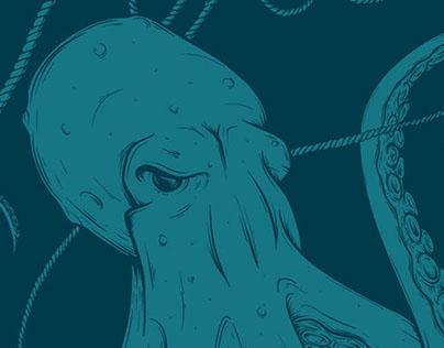 The Octopus - Villain of the Seas