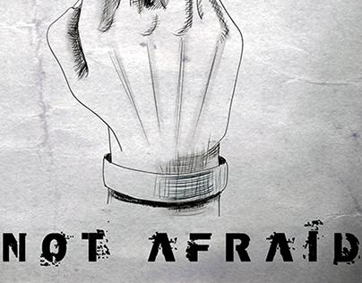 Not afraid. Je suis Charlie.