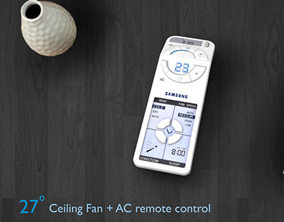 27 DEGREE - AC & Fan Remote