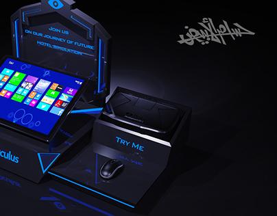 Oculus Rift Development Kit 2 (DK2) Stand