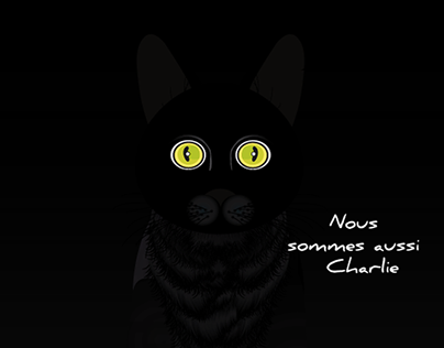 Hommage Charlie Hebdo #jesuischarlie