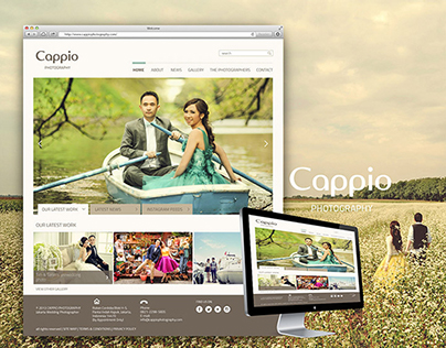 Cappio Photography Website