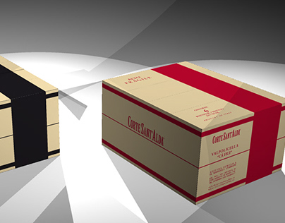 Corte Sant'Alda wine packaging for stocking and mailing