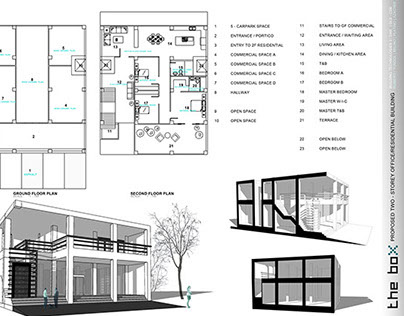 The Box: Proposed Two-Storey Residential Building