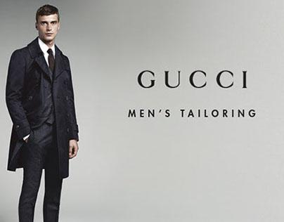 Gucci Men's Tailoring website