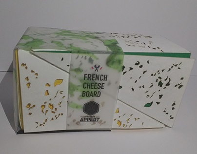 Packaging French Cheese Board
