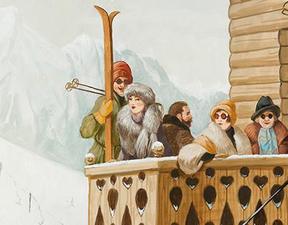 VACHERON CONSTANTIN snowgolf cup