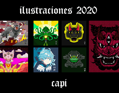 ilustraciones de Capi 2020