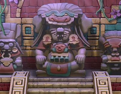GREE Jackpot Slots Mayan Fortune Mini Game