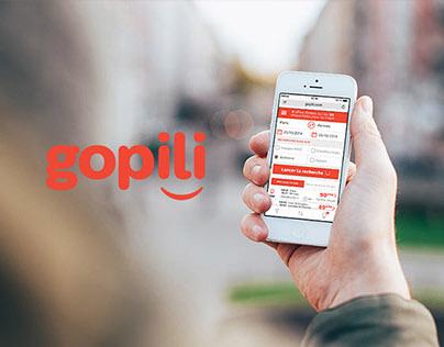 Gopili (mobile website)