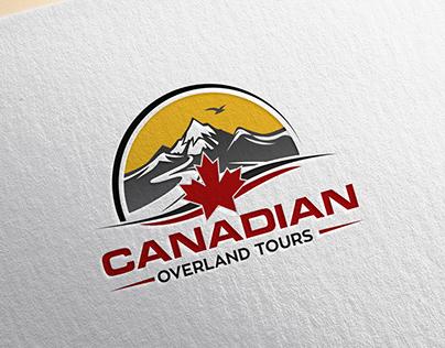 Logo Design for Canadian Overland Tours