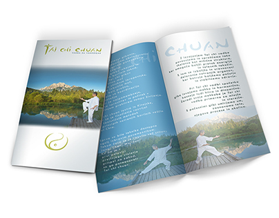 Tai Chi Chuan brochure and poster