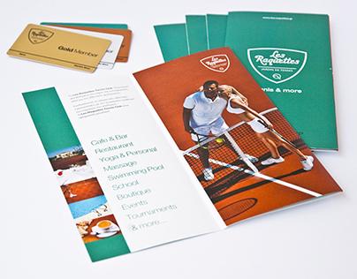 Les Raquettes Tennis Club | Brochure & Member Card