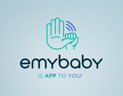 emybaby app: branding, app, dashboard & website design