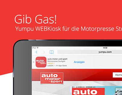 Motorpresse Stuttgart nutzt Yumpu-Tools!