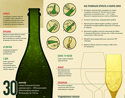 Champagne: how to open and what to combine