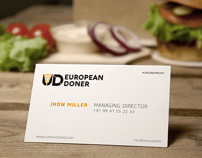 EUROPEAN DONER - FOOD BRANDING & PACKAGING