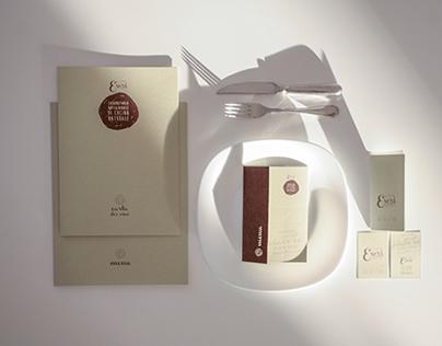 Brand Identity Design for Osteria Esprì