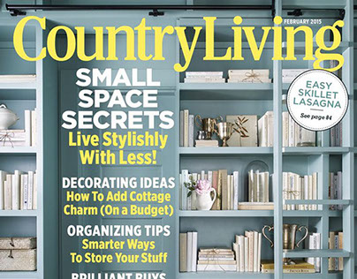 Country Living Magazine Kitchen Feature