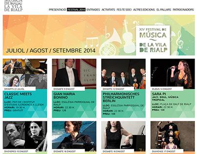 Festival de Música de Rialp 2014