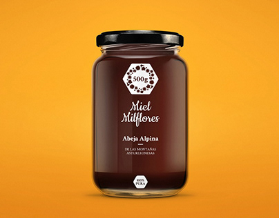 Packaging para miel artesanal