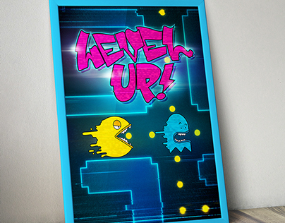 Level Up! / pac-man tribute