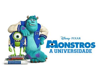 Trailer Filme Univercidade Monstros