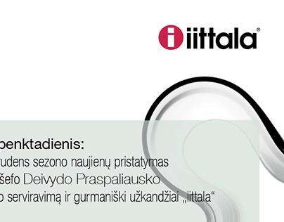 Poster for iittala