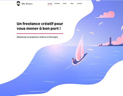 Webdesign - Mr Zozu Portfolio