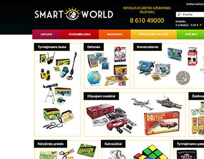 Web design for SmartWorld