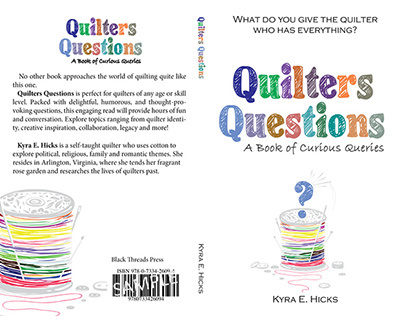 Book cover for quilting