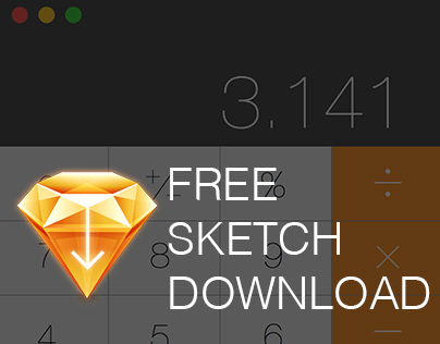 Apple's Calculator: Free Sketch Download