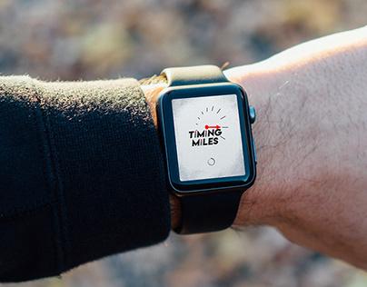 Timing Miles- Logo Design